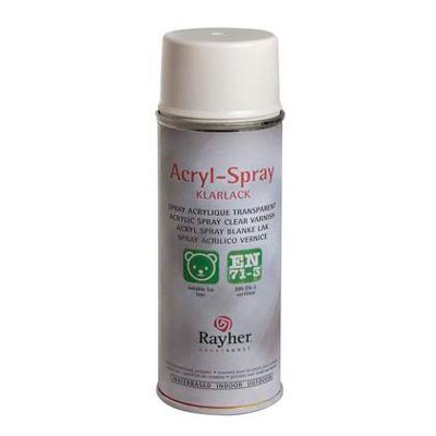 Rayher Acryl spray wit