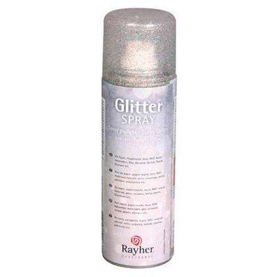 Rayher Glitterspray fijn iriserend 125 ml