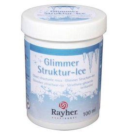 Rayher Glimmer structuur ijs 100 ml