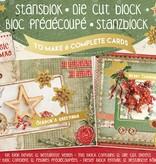 Studiolight STANSBLOK A5, CONTENT 12 SHEETS DIE CUT FOLIE, CLASSIC CHRISTMAS