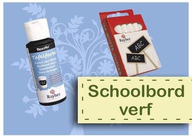 Schoolbord Verf