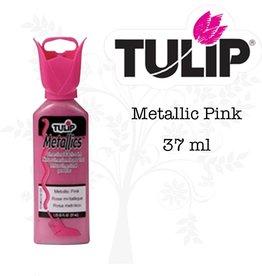 Tulip Tulip verf Metallics Metallic Pink (37 ml)