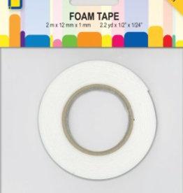 Je Je Produkt 3D Foamtape 2 mtr. x 12 mm x 1 mm