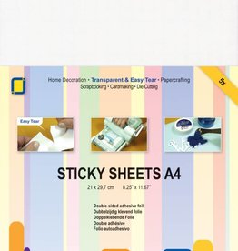 Je Je Produkt JEJE Produkt Sticky sheets A4 5 sheets