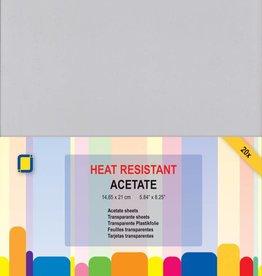 Je Je Produkt JEJE Produkt Acetate sheets heat resistant A5