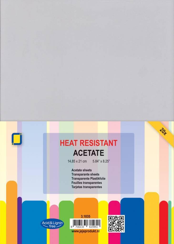 Je Je Produkt Jeje Produkt Acetate Sheets Heat Resistant