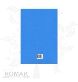 Prikmat blauw A4