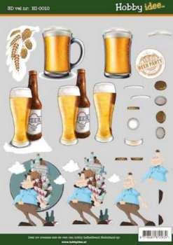Hobby Idee 3D vel Bier Hobbyidee