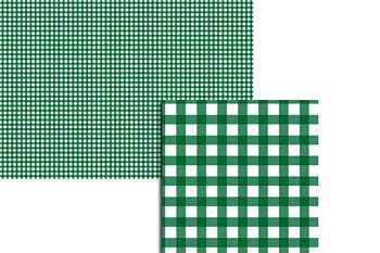 Wekabo Achtergond vel 204 - Ruit donker groen