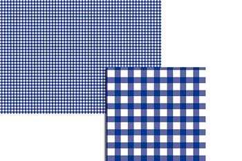 Wekabo Achtergond vel 205 - Ruit donker blauw