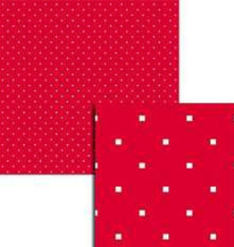 Wekabo Achtergond vel 208 - Puntjes rood