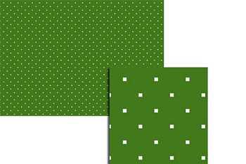Wekabo Achtergond vel 209 - Puntjes donker groen