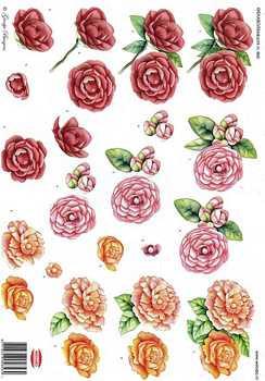 Wekabo 3D vel bloemen