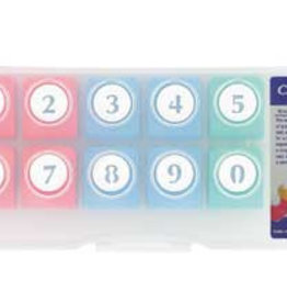 Reuser Number craft punch set