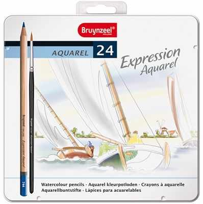 Bruynzeel-Sakura Bruynzeel Expression Aquarel 24