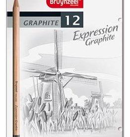 Bruynzeel-Sakura Bruynzeel Expression Graphite 12