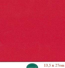 Hobbycentraal 13,5 x 27 cm Kaartkarton rood