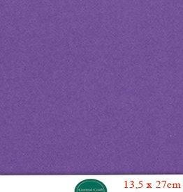 Hobbycentraal 13,5 x 27 cm Kaartkarton paars