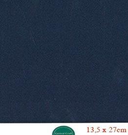 Hobbycentraal 13,5 x 27 cm Kaartkarton donker blauw