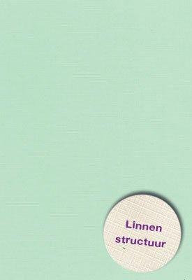 Hobbycentraal A5 Karton Linnen  l. groen