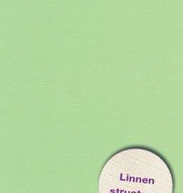 Hobbycentraal A5 Karton Linnen  10 vel   licht groen