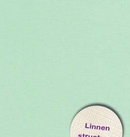 Hobbycentraal Karton 13,5_27cm Linnen  10 vel   l. groen