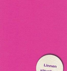Hobbycentraal 13,5 x 27 cm  Linnen 10 vel Fuchia