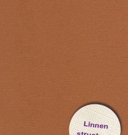 Hobbycentraal 13,5 x 27 cm  Linnen 10 vel L Bruin