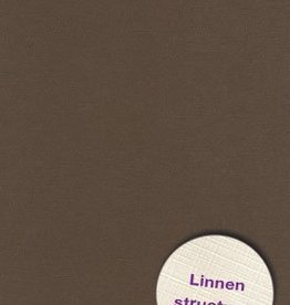 Hobbycentraal 13,5 x 27 cm  Linnen 10 vel Bruin