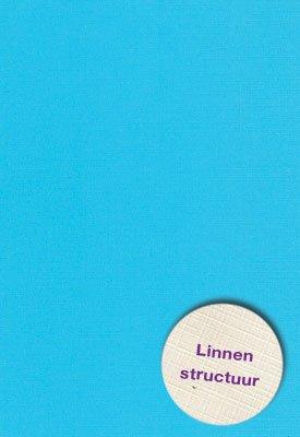 Hobbycentraal A4 Karton Linnen  blauw