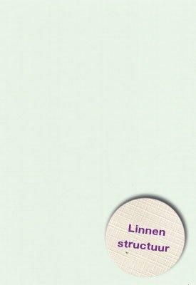 Hobbycentraal A4 Karton Linnen  10 vel  Licht groen
