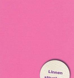Hobbycentraal A4 Karton  Linnen Roze