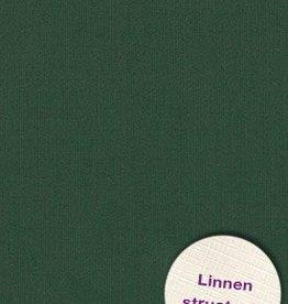 Hobbycentraal A4 Karton  Linnen  10 vel  Donker groen