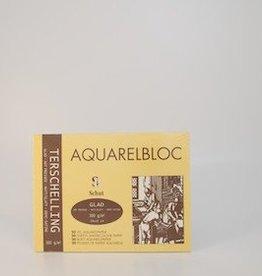 Terschelling AQUARELBLOC Glad 18x24 cm 300 grams
