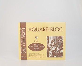 Terschelling AQUARELBLOC Glad 24x30 300 grams