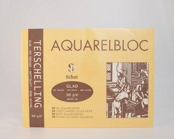 Terschelling AQUARELBLOC Glad 30x40 300 grams