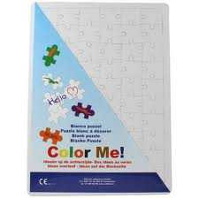 Collall Color Me Blanco Puzzle A3