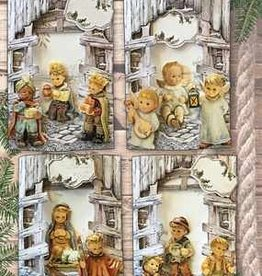 Creatief Art Pakket Christmas Barns 01