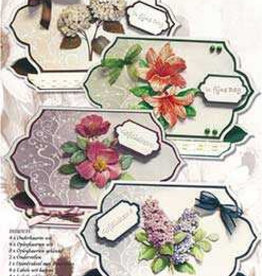 Creatief Art Pakket Floral Cards