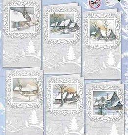 Creatief Art Kaartenpakket Merry Christmas 01
