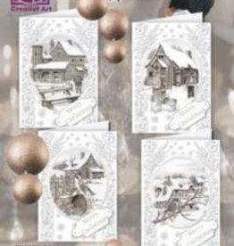 Creatief Art Kaartenpakket staf wesenbeek kerst uitdruk