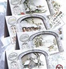 Creatief Art Pakket A white Christmas 02 uitdruk
