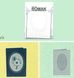 Romak Romak Kaart Wit 3 stuks