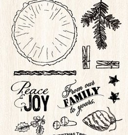 Studiolight STAMP (1) A6 WOODLAND WINTER 193