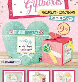 Studiolight STANSBLOK A4 TO MAKE 9 GIFTBOXES 02