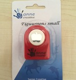Sanne Figuurpons small appel 1,5/2 cm