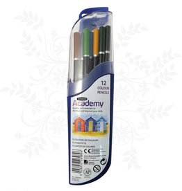 Derwent Derwent Academy 12 Colouring pencils
