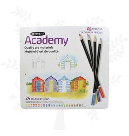 Derwent Derwent Academy colour pencils 24 pcs in tin