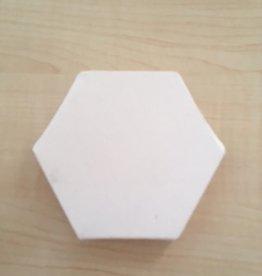Mini schildersdoek Hexagonal 10 cm