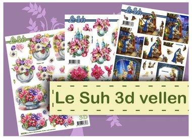 Feuilles 3D Le Suh